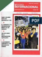 Revista Internacional-Nuestra Época-Edición ChilenaI Marzo de 1987
