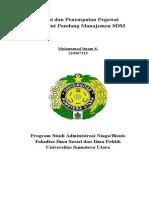 Manajemen SDM - Seleksi Dan Penempatan Pegawai