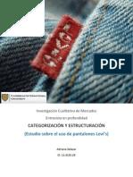 CategorizaciónyEstructuración - Pantalones Levis (AdrianaSalazar)