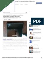 Smartphones | Sony Xperi... fragilidade na carcaça