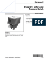 Differential Pressure Switch Honeywell