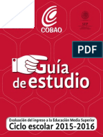 Guía de Estudio 2015