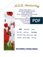 GCFI Church Bulletin - H.E.R Ministry