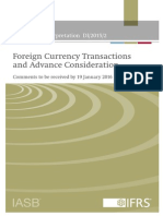 IFRS - Foreign Currency Transactions and Advance Consideration