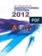 Report on the Census of Manufacturing Activities 2012