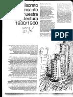 El discreto encanto de nuestra arquitectura1930 1960