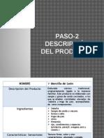 Paso-2 Descripción Del Producto