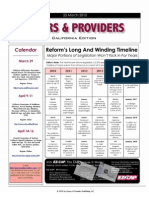 Payers & Providers -- Issue of March 25, 2010