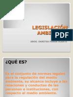 Legislación Ambiental Dra. Danitza