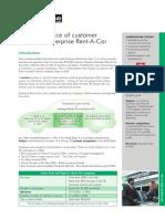 Enterprise Rent a Car Edition 12 case study