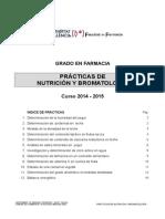 Prácticas Nutricion y Bromatologia