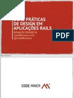 Boas Práticas de Design em Aplicações Rails