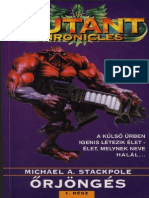 Michael a Stackpole - Mutant Chronicles - Őrjöngés 1 - SmCat