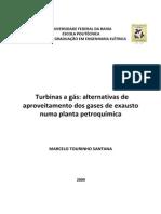 TCC - Marcelo - Ufba - Turbinas a Gás Com Aproveitamento de Gases de Exaustão