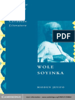 Biodun Jeyifo-Wole Soyinka_ Politics, Poetics, And Postcolonialism (Cambridge Studies in African and Caribbean Literature) (2003)