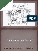 Termos Latinos na lingua portuguesa