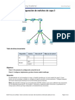 Packet Tracer - Configure Layer 3 Switches Instructions