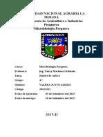 Informe 2 medios de cultivos