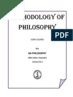 V. Prabhakaran (Ed.) - Methodology of Philosophy (2011)