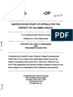 STRUNK's DC Circuit Petition for Writ of Mandamus for Census w Exhibits and Endnotes DCC 10-5077-OP