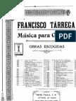 Tarrega - Recuerdos de La Alhambra Guitar