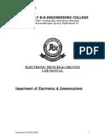 Lab Manual of EDC 2011