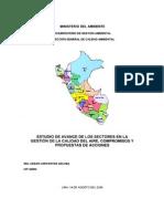 Estudio de Avance de Los Sectores en La Gestión de (2)