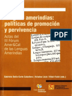 Dalla-Corte Et Al - Lenguas Ameríndias (2005)