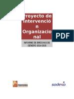 Proyecto de Intervención Organizacional