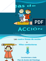 Lines de Accion Educativa