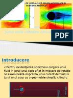 simulare numerica fluid in jurul unui cilindru (2 D)