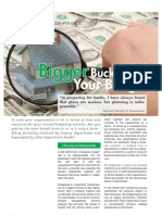Bigger Bucks from your Budget
