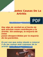 5 Impactantes Causas de La Artritis