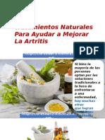 Tratamientos Naturales Para Ayudar a Mejorar La Artritis