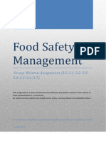 Food Safety Management Ass.3