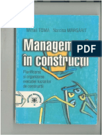 Management in Constructii - Toma - Margarit