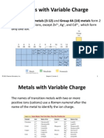 Variable Charge