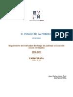 2015 EAPN España.estado de Pobreza
