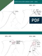 Evolución urbana de la ciudad de Posadas, provincia de Misiones, Argentina.