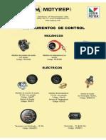 Catalogo de Instrumentos de Control