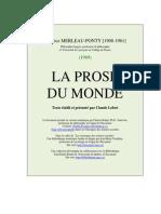 Prose Du Monde