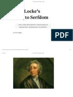 John Locke's Road to Serfdom