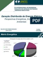 Geração Distribuida de Energia Elétrica