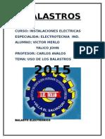 Balasto Electronico