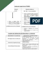 Constitución Legal de Las PYMES