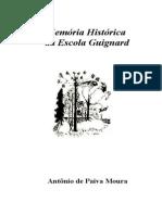 Memoria Historica Da Escola Guignard (1)