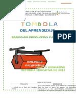 Banco de Preguntas PLAN 2011