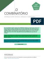 Cálculo Combinatório Parte 1