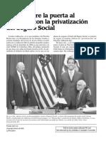 Privatización Seguridad Social