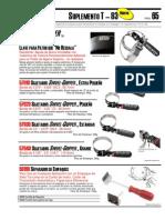 Catalogo Productos Lisle T83 Spanish
